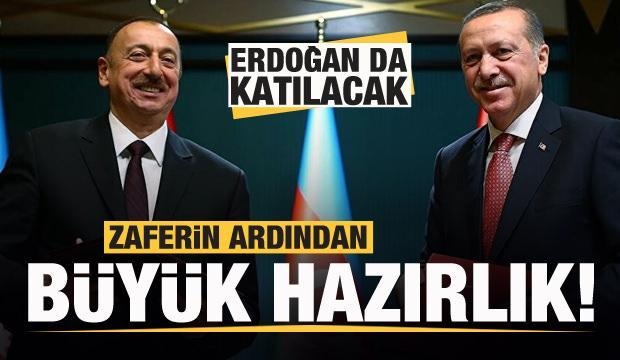 Azerbaycan'da büyük hazırlık! Başkan Erdoğan da katılacak