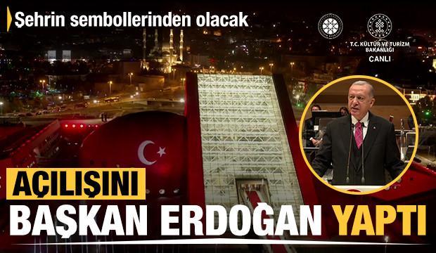 Başkan Erdoğan CSO konser salonu açılışında konuştu