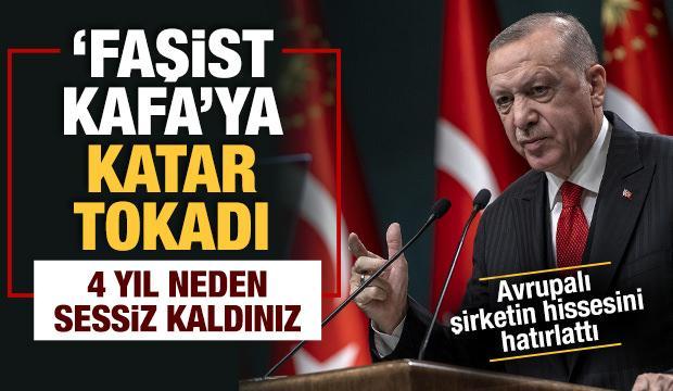 Başkan Erdoğan'dan 'faşist kafa'ya Katar hatırlatması: O zaman neden sessiz kaldınız
