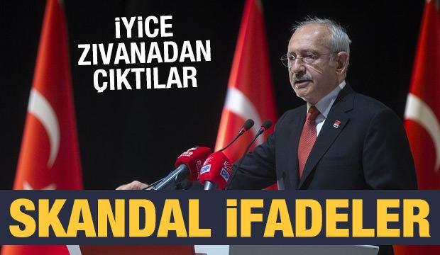 CHP zıvanadan çıktı: Skandal ifadeler