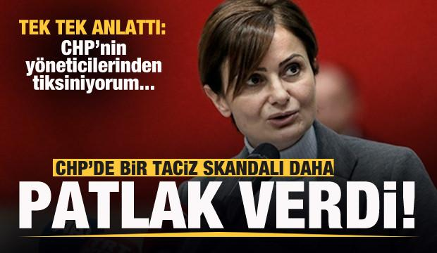 CHP'de bir taciz skandalı daha patlak verdi