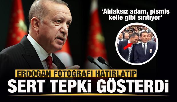Erdoğan CHP'li vekile çok sert tepki: Ahlaksız adam, pişmiş kelle gibi sırıtıyor
