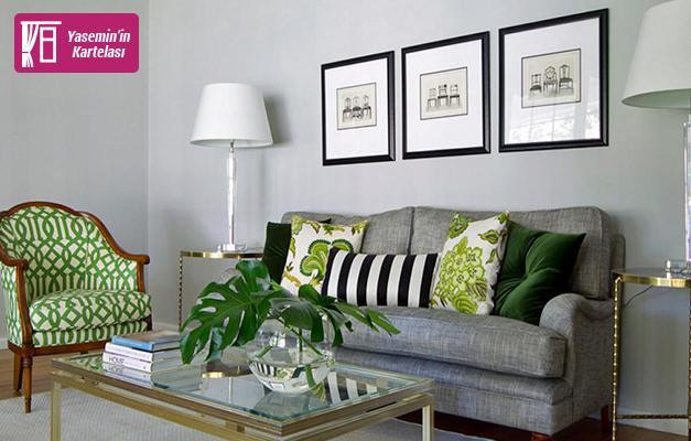 Ev dekorasyonunda değerlendirilebilecek farklı renk uygulamaları
