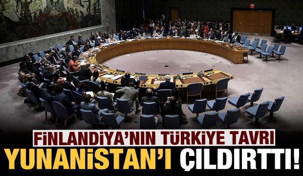 Finlandiya'nın Türkiye tavrı Yunanistan'ı rahatsız etti!