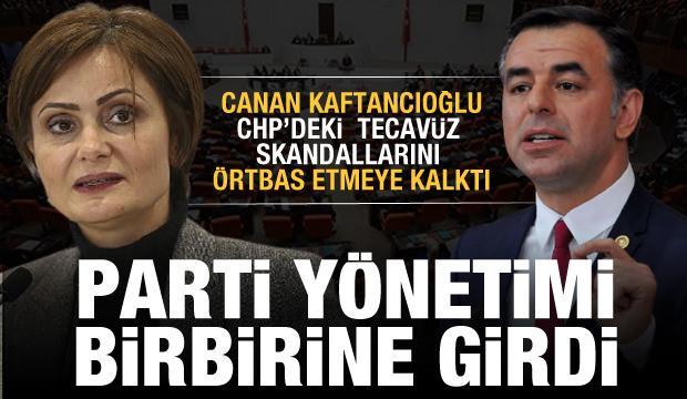 Kaftancıoğlu partideki tecavüzcüleri gizlemeye kalktı! CHP yönetimi birbirine girdi