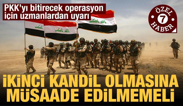 PKK'nın sonunu getirecek operasyon: Teröristler kaçacak delik arayacak