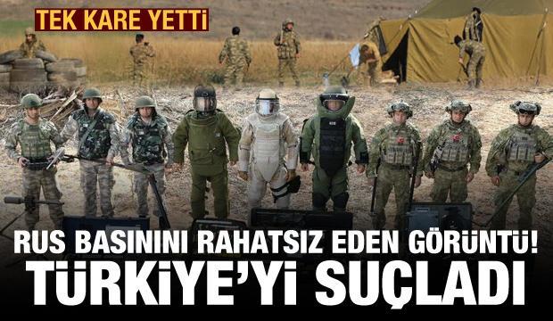 Rus basınını rahatsız eden görüntü! Türkiye'ye hadsiz suçlamalar