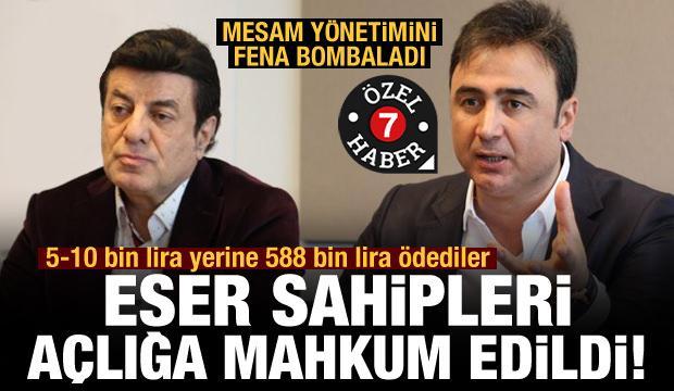 Sanatçı Recep Ergül: Eser sahipleri açlığa mahkum edildi!