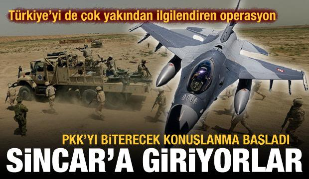 Son dakika: Irak Ordusu Sincar'a giriyor! PKK'yı bitirecek operasyon başladı