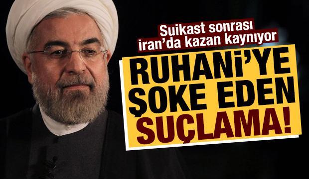 İran'da kazan kaynıyor! Ruhani'ye şok suçlama...