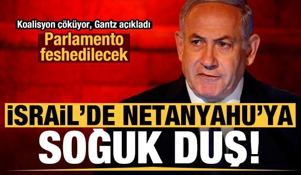 Son dakika: İsrail'de Netanyahu'ya soğuk duş! Erken seçim kapıda, parlamento feshedilecek...