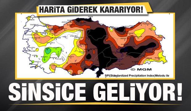 Türkiye için önemli uyarı! Sinsice gelir! Harita giderek kararıyor