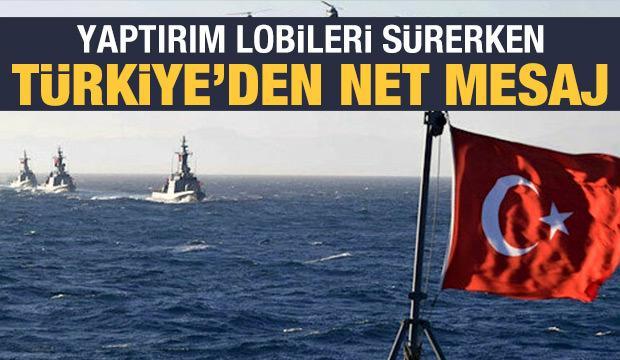 Türkiye'den Yunanistan'a tepki: Hiçbir yaptırım Türkiye'ye taviz verdirmez