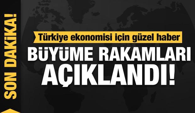 Türkiye'nin 3'üncü çeyrek büyüme rakamları açıklandı