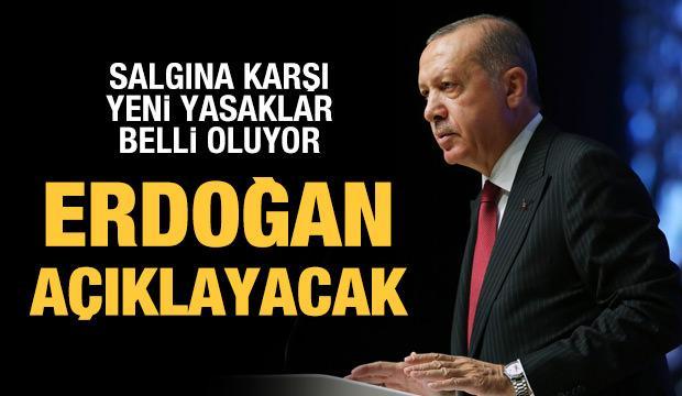 Yeni yasaklar için karar günü: Erdoğan açıklayacak