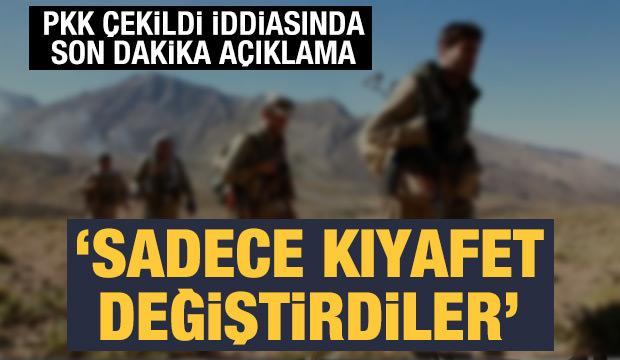Barzani'den son dakika açıklama: PKK sadece kıyafet değiştirdi