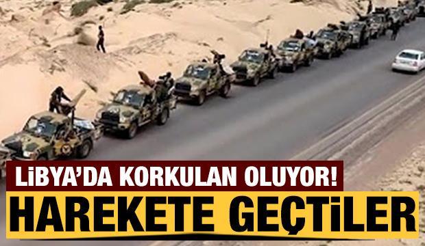 Libya'da korkulan oluyor! Harekete geçtiler