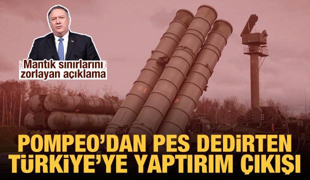 Pompeo: Türkiye'ye uygulanan S-400 yaptırımlarının asıl hedefi Rusya