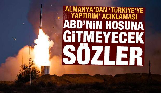 Almanya'dan 'Türkiye'ye yaptırım' açıklaması! ABD'ye açık ve net mesaj