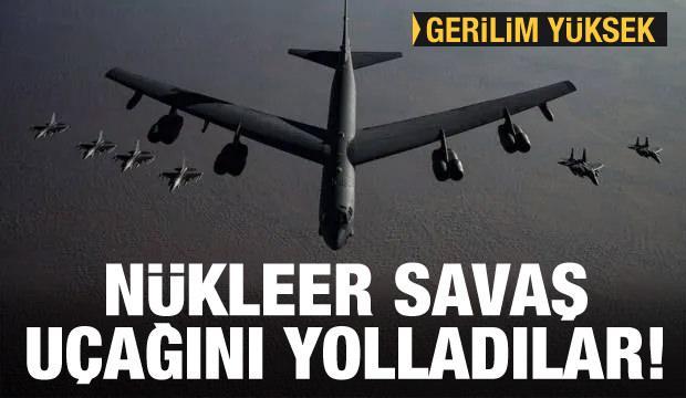 ABD resmen duyurdu! Ortadoğu yanıyor! Nükleer bombardıman uçağı gönderildi