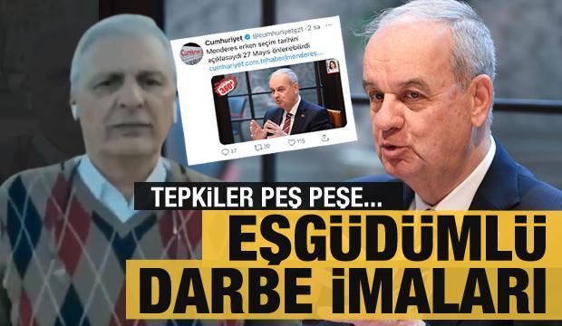 Ataklı ve Cumhuriyet Gazetesi'nden eş güdümlü 'darbe' iması! Tepkiler çok büyük