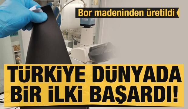 Türkiye dünyada bir ilki başardı! Bor madeninden 'Anti-rad' üretildi