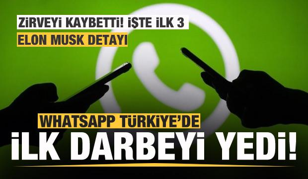 Son dakika: Whatsapp'a Türk kullanıcılardan büyük darbe! İlk 3 değişti! Telegram, BiP...