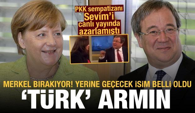 Almanya'da Merkel'in yerine geçecek isim belli oldu: Türk Armin