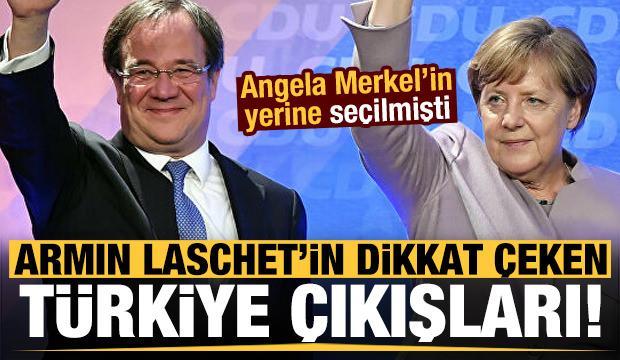 Angela Merkel'in yerine seçilmişti! Armin Laschet'in dikkat çeken Türkiye hamleleri