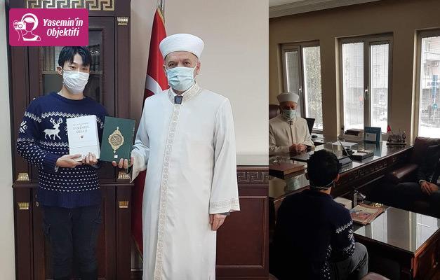 Güney Koreli Unseko Kwon Şehadet getirerek Müslüman oldu!