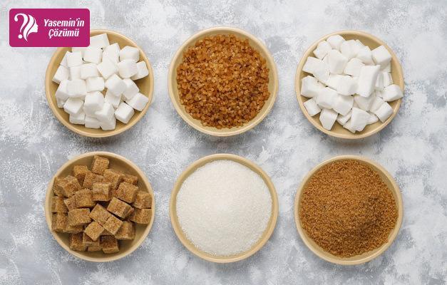 Hangi şeker hangi tatlıda kullanılır?