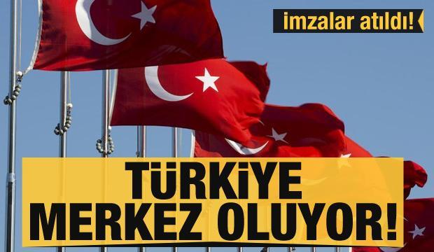İran'la imzalar atıldı! 2 yeni hat açılıyor... Küresel ticaretin merkezi Türkiye olacak