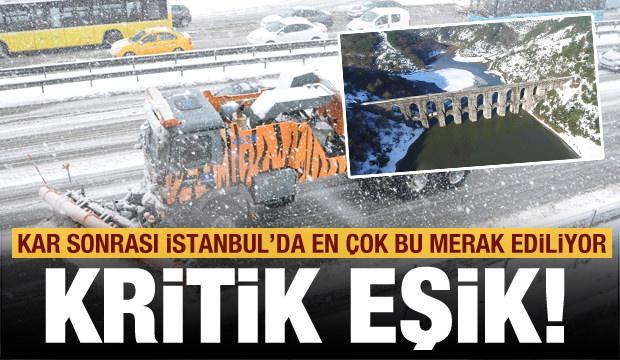 Kar yağışı sonrası İstanbul'da en çok bu merak ediliyor! Kritik eşik...