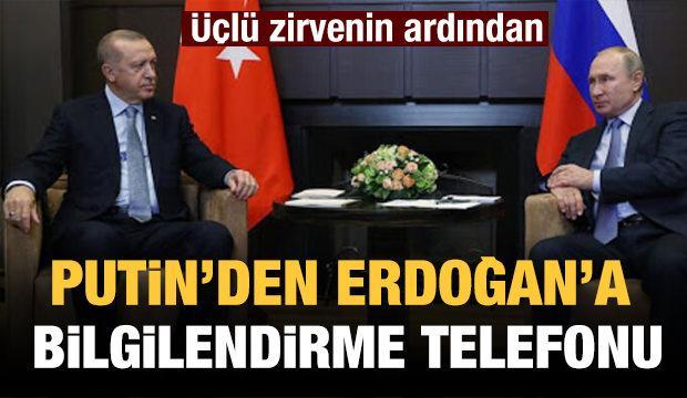 Kremlin'den Türkiye'ye üçlü zirve telefonu