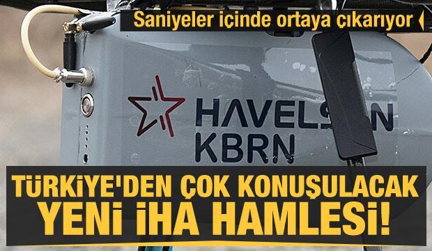Türkiye'den çok konuşulacak yeni İHA hamlesi! Saniyeler içinde ortaya çıkarıyor
