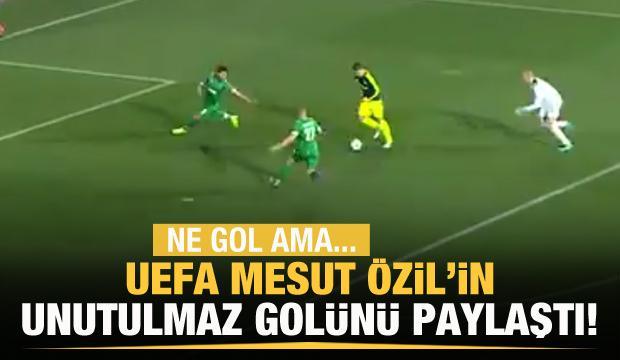 UEFA'dan Mesut Özil paylaşımı!