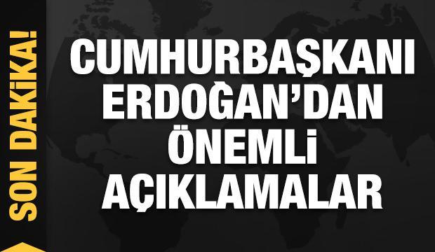 Erdoğan'dan dikkat çeken hatırlatma: Bizden saklama ücreti bile aldılar