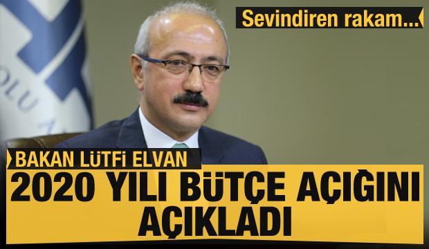 Bakan Elvan'dan bütçe açıklaması: Kalıcı tedbirler alıyoruz