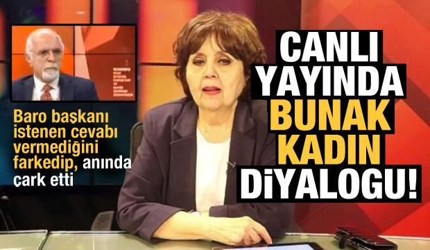 Canlı yayında ilginç 'Bunak kadın' diyaloğu! Durakoğlu ile Ayşenur Arslan alay konusu oldu