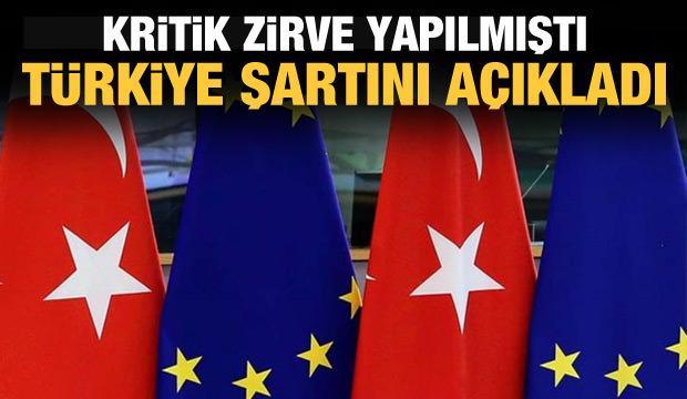 Çavuşoğlu'ndan son dakika AB açıklaması