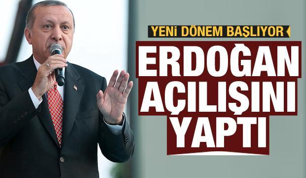 Cumhurbaşkanı Erdoğan, OECD'nin İstanbul Ofisi'ni hizmete açtı
