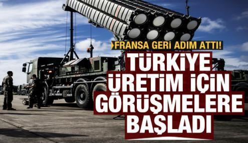 Fransa geri adım attı, Türkiye üretim için görüşmelere başladı