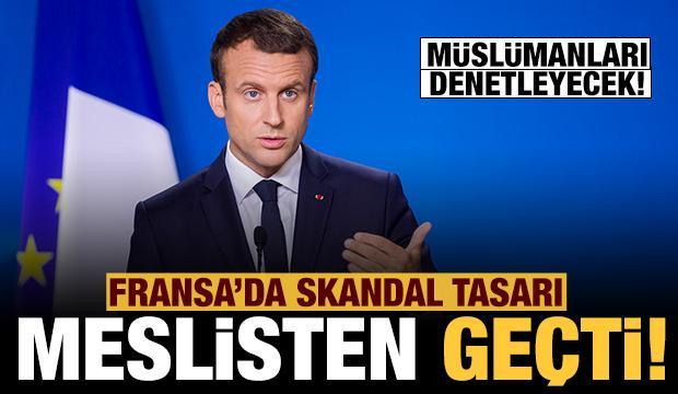 Fransa'da Müslümanları hedef alan skandal tasarı meclisten geçti!