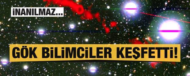 Gök bilimcilerden inanılmaz keşif! Samanyolu'ndan 62 kat daha büyük!
