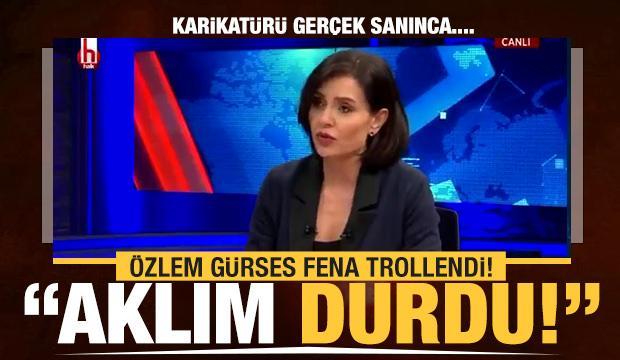 Halk TV sunucusu Özlem Gürses fena trollendi!