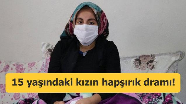 Hapşırma nöbeti geçiren genç kız tedavi olmak istiyor