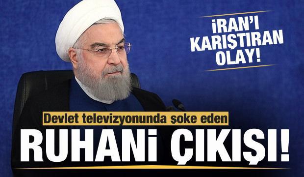 İran'ı karıştıran olay! Devlet televizyonunda Cumhurbaşkanı Ruhani'ye ağır hakaret!