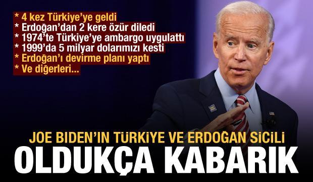 Joe Biden'ın Türkiye ve Erdoğan ile yaşadığı krizler, gerilimler, sorunlar