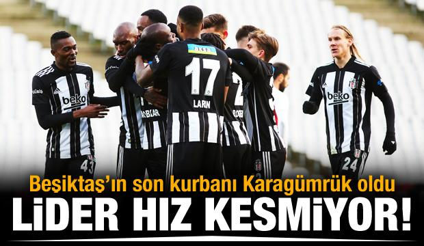 Lider Beşiktaş devire devire gidiyor!