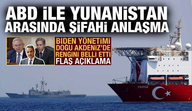 Önce Türkiye'yi tehdit etti! ABD ile Yunanistan arasında Doğu Akdeniz'de şifahi anlaşma